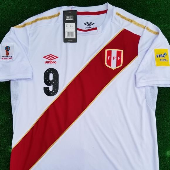 892831c46e8 2018 Perú soccer jersey Guerrero
